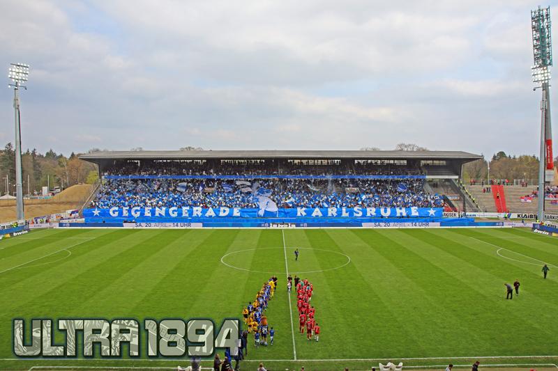 blick ins Stadion vom Karlsruher SC
